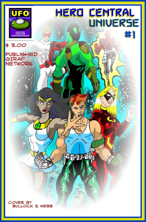 Isis. Herakles. Sinbad. Raiden. Merlyn. This pantheon on heroes has risen to defeat the ancient evil set forth upon innocent mankind once again. In pairs, they seek out the source behind this evil resurrection as well as new heroes to become mankind's defenders. Available at $3.00 for hard copy, $0.99 for digital copy. Co-published by UFO.
